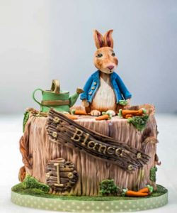 peter rabbit cake by ponona cakes