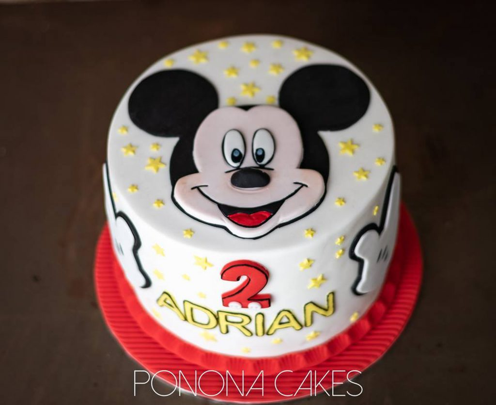 2 dimensions mickey mouse cake ponona cakes