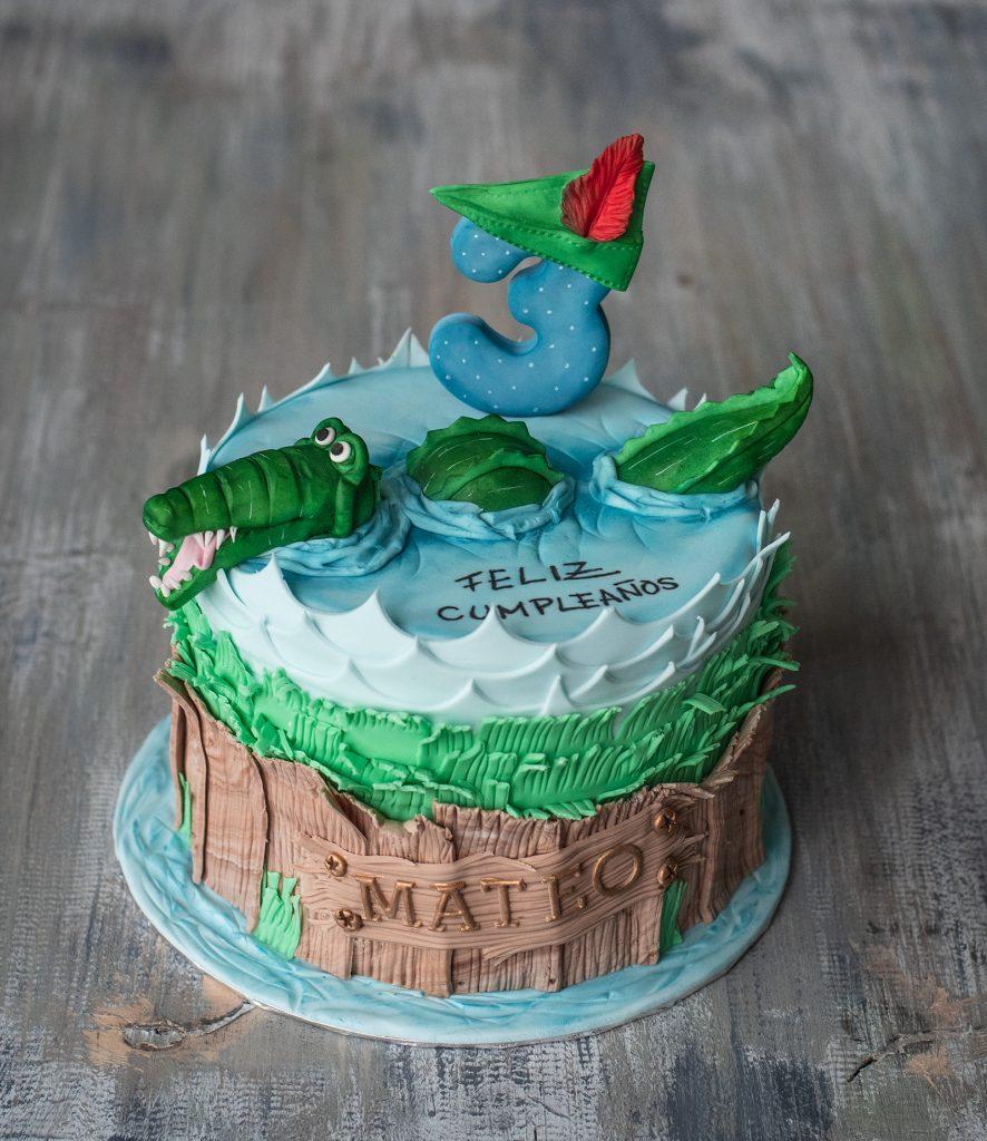 crocodile peter pan cake ponona cakes
