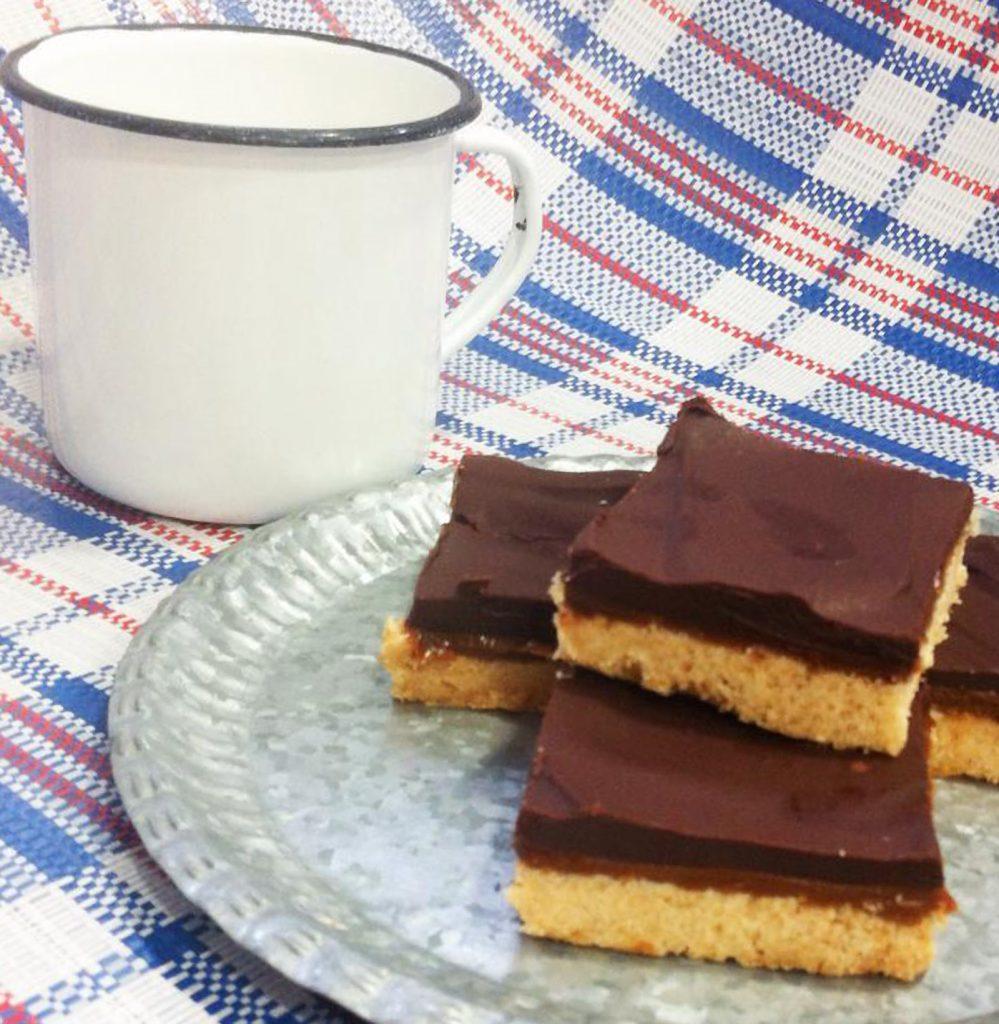 millionaire's shortbread ponona cakes dulces de bocado santander