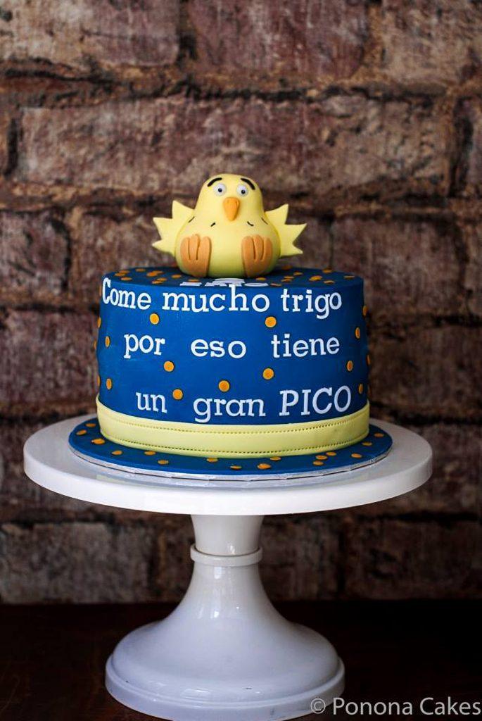pollo pepe ponona cakes chicken cake