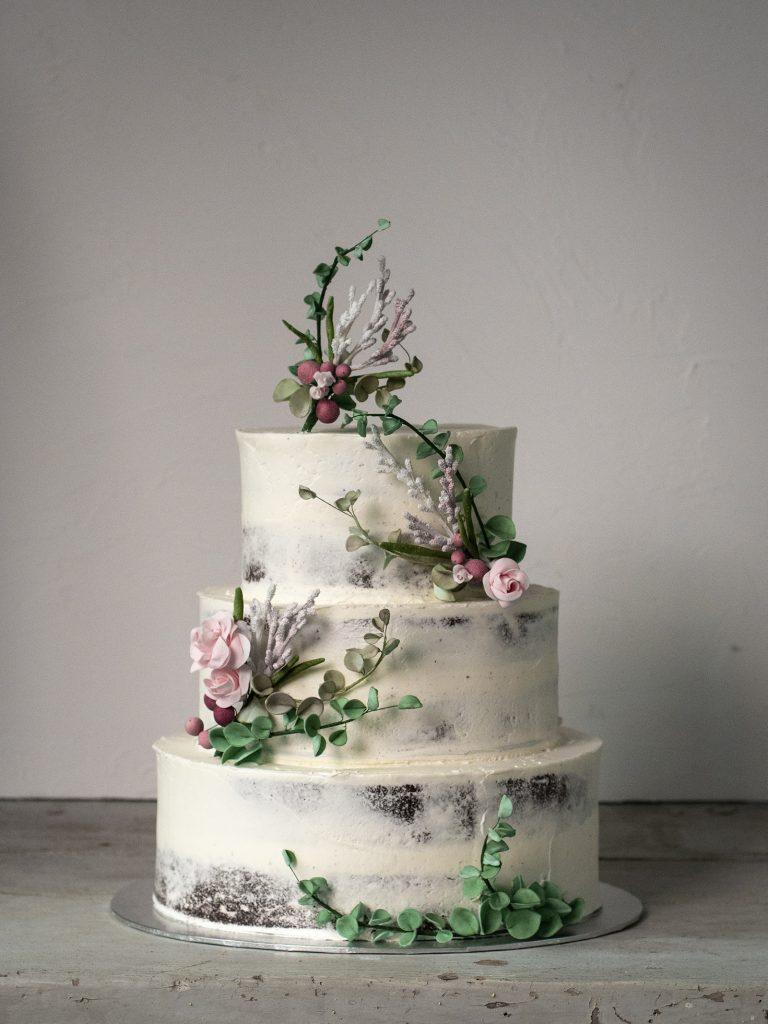 semi naked guiness wild flower cake tarta ponona cakes santander