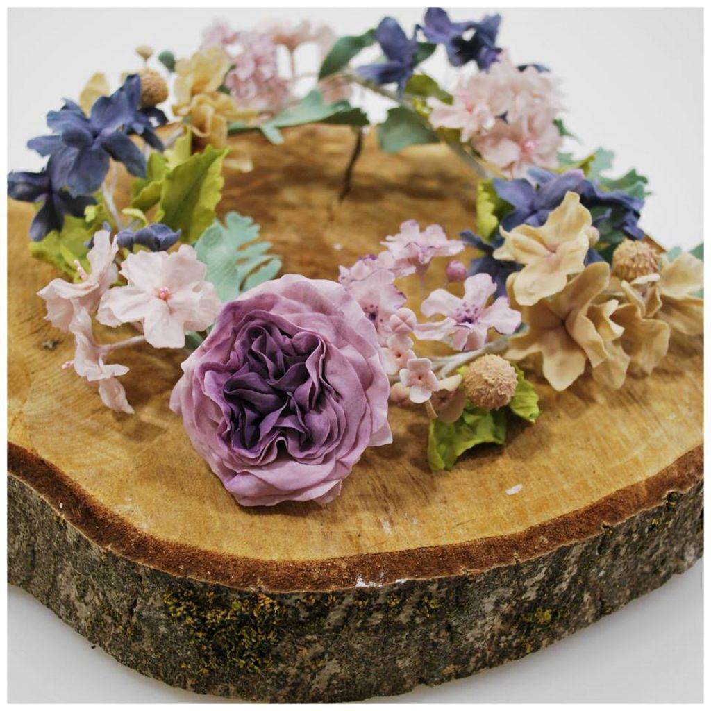 sugarpaste flowers ponona cakes flores de azucar en tronco