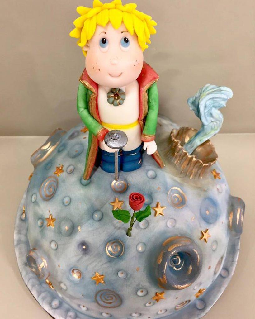 tarta el principito little prince ponona cakes