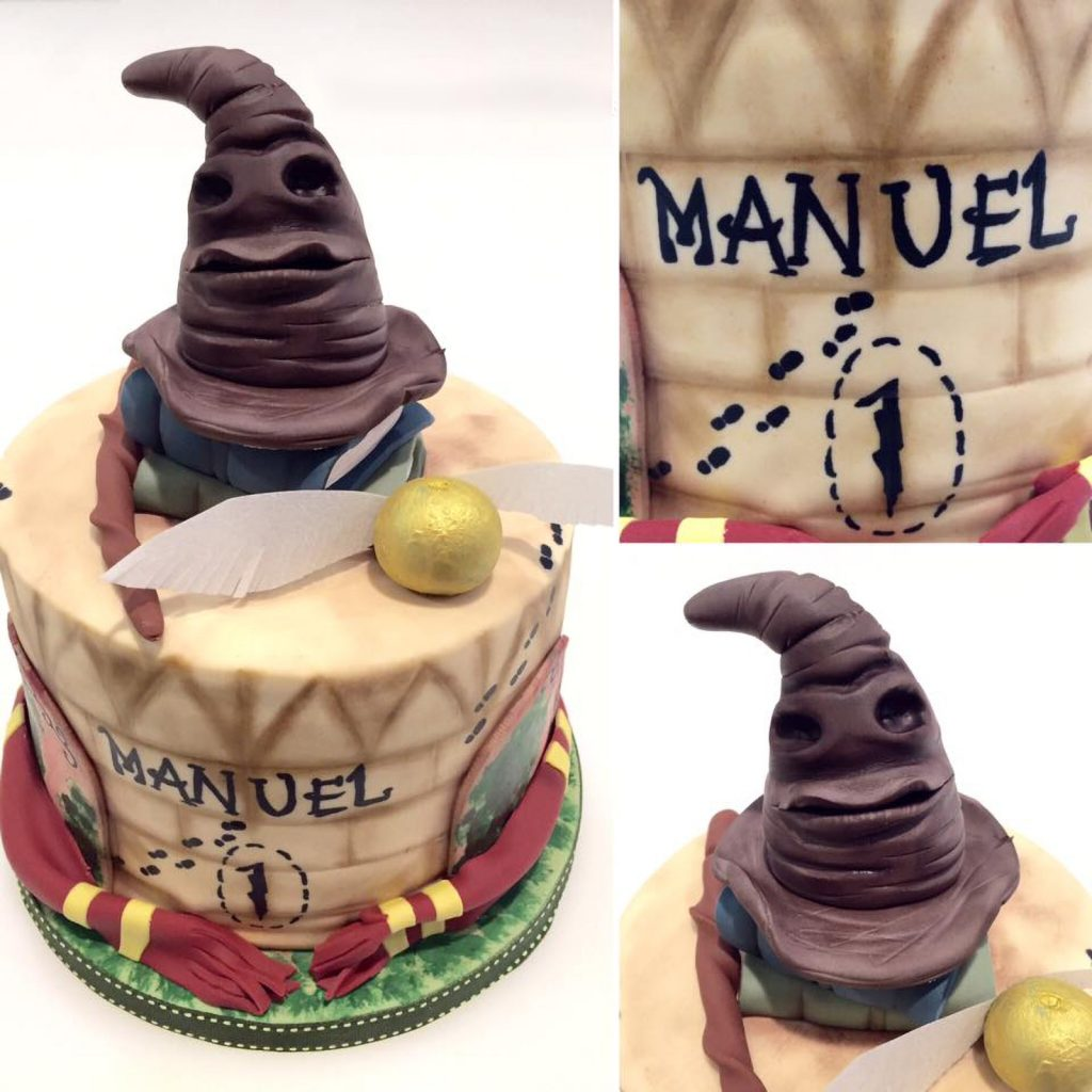tarta harry potter cake sombrero ponona cakes