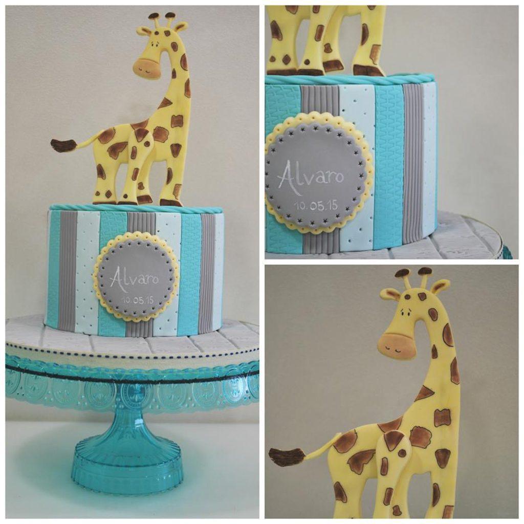 tarta jirafa jiraffe cake ponona cakes