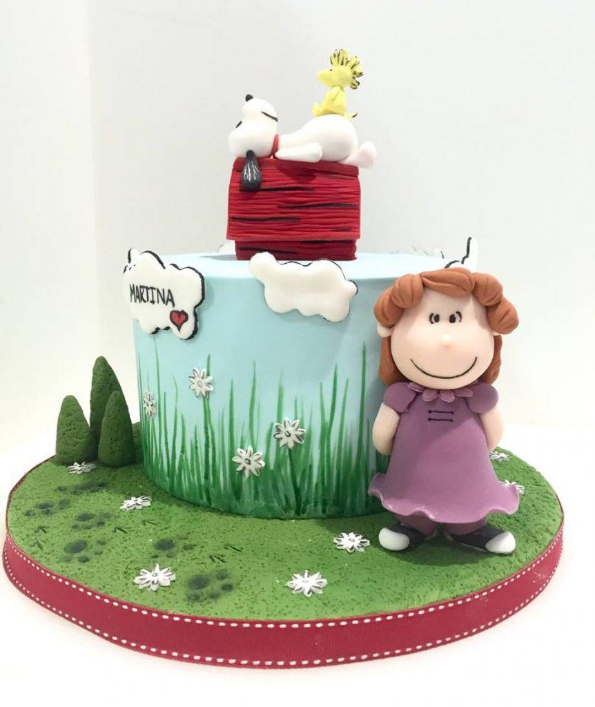 tarta snoopy cake ponona cakes