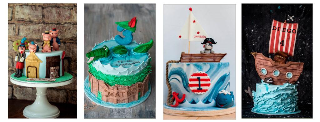 4 tartas cumpleaños ponona cakes santander